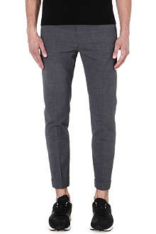 MCQ ALEXANDER MCQUEEN Tapered wool-blend trousers