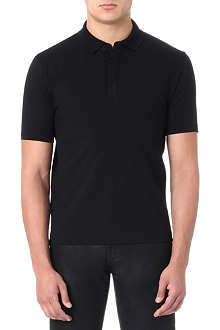 MCQ ALEXANDER MCQUEEN Swallow badge polo shirt