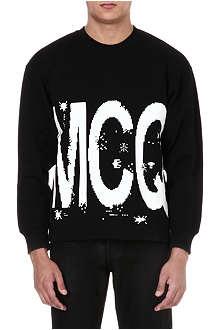 MCQ ALEXANDER MCQUEEN Pacman logo sweatshirt