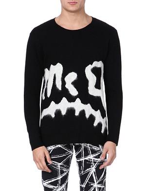 MCQ ALEXANDER MCQUEEN Razor Blade print jumper