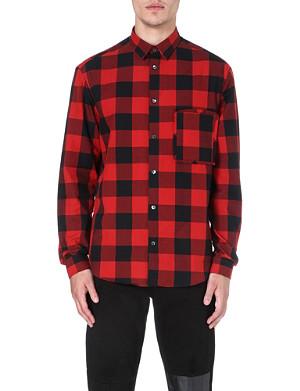 MCQ ALEXANDER MCQUEEN Lumberjack check shirt