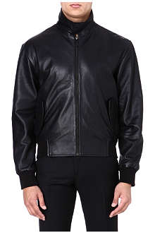MCQ ALEXANDER MCQUEEN Black leather jacket