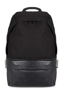 MCQ ALEXANDER MCQUEEN Canvas and leather backpack