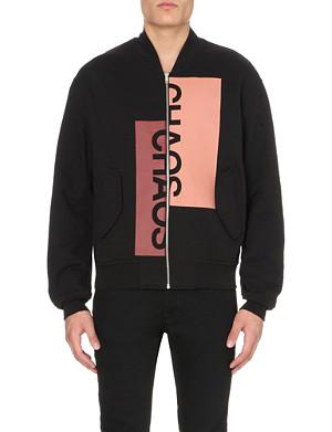 MCQ ALEXANDER MCQUEEN Cotton-jersey bomber jacket