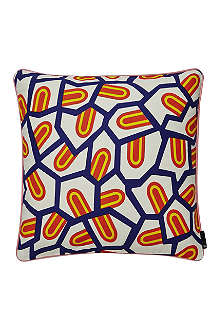 HAY Tongue print set of two cushions