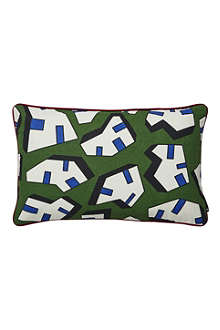 HAY Set of two Ice Print rectangular cushions