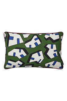 HAY Set of two Ice Print rectangular cushions
