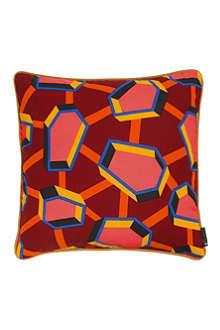 HAY Set of two Full Print square cushions