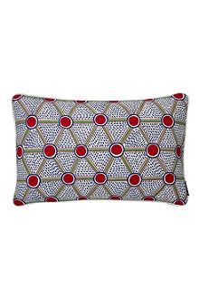 HAY Set of two Cells Print rectangular cushions