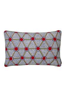HAY Set of two Cells Print rectangular cushions