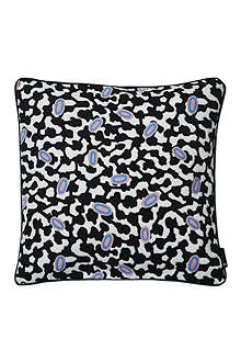 HAY Embroidered square cushion set of 2
