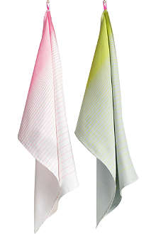 HAY Set of two gradient tea towels