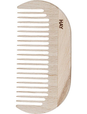 HAY Waxed-beechwood small comb