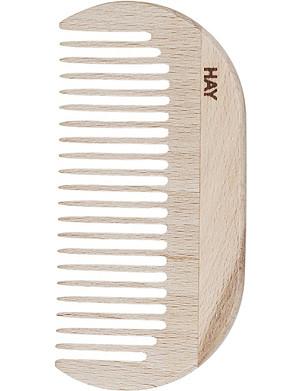 HAY Waxed-beechwood small comb