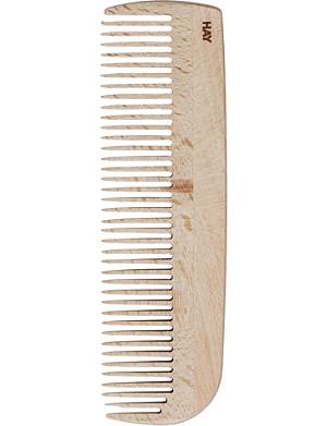 HAY Waxed-beechwood large comb