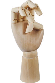 HAY Hand-polished small wooden hand