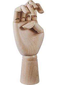 HAY Hand-polished medium wooden hand