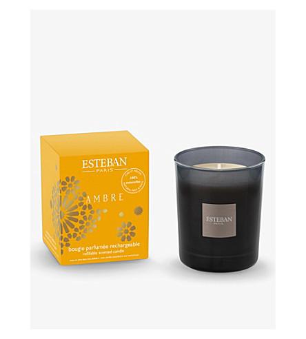 ESTEBAN Ambre scented candle