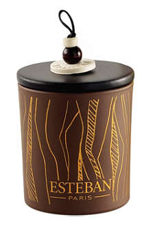 ESTEBAN Cedre refillable scented decorative candle
