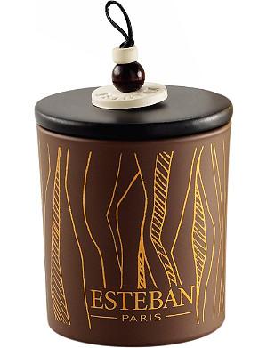 ESTEBAN Cedre refillable scented decorative candle