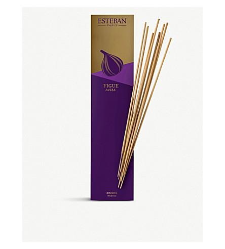 ESTEBAN Figue Noir bamboo sticks