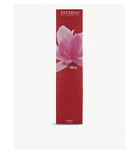ESTEBAN Magnolia Rosa bamboo incense sticks