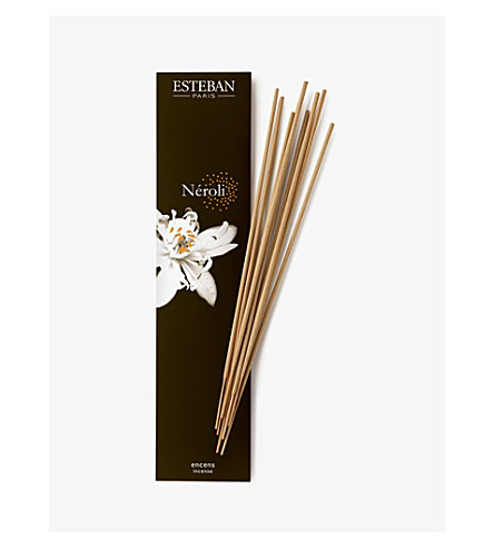 ESTEBAN Néroli bamboo incense sticks pack of 20