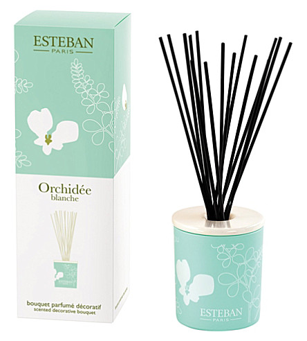 ESTEBAN Orchidée blanche bouquet diffuser 100ml