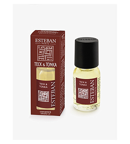 ESTEBAN Teck and Tonka refresher oil