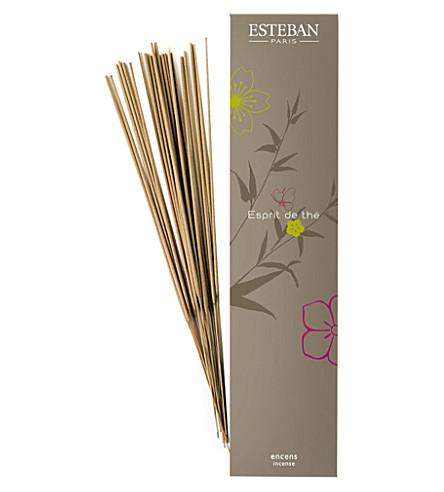 ESTEBAN Espirit De thé smokeless incense