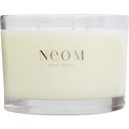 NEOM LUXURY ORGANICS Serenity three-wick candle