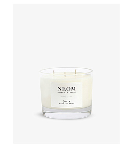 NEOM LUXURY ORGANICS Happiness home candle