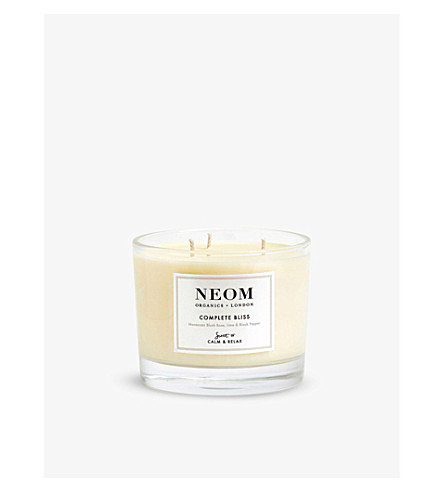 NEOM LUXURY ORGANICS Complete Bliss home candle