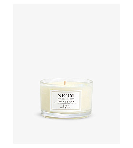 NEOM LUXURY ORGANICS Complete bliss travel candle