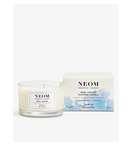 NEOM LUXURY ORGANICS Real luxury travel candle