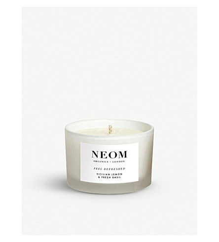 NEOM LUXURY ORGANICS Feel Refreshed travel candle