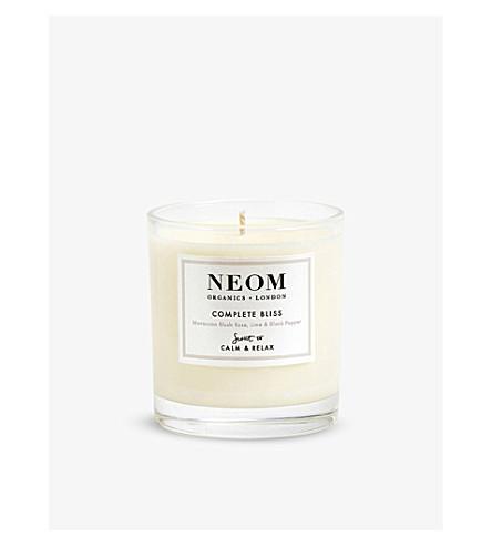 NEOM LUXURY ORGANICS Complete bliss standard candle