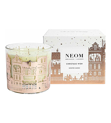 NEOM LUXURY ORGANICS Christmas wish 3-wick scented candle 420g