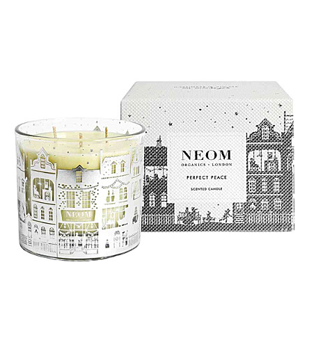 NEOM LUXURY ORGANICS Perfect Peace 3-wick scented candle 420g