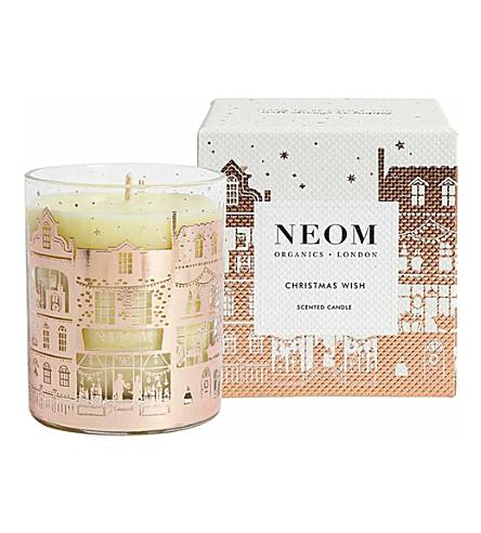 NEOM LUXURY ORGANICS Christmas wish scented candle 185g