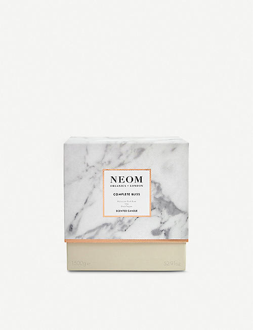NEOM LUXURY ORGANICS Complete Bliss Scented Candle 1.5kg