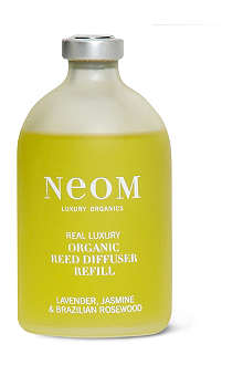 NEOM LUXURY ORGANICS Real Luxury organic reed diffuser refill 100ml