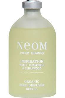 NEOM LUXURY ORGANICS Inspiration organic reed diffuser 100ml