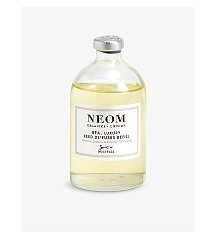 NEOM LUXURY ORGANICS Real luxury reed diffuser refill 100ml