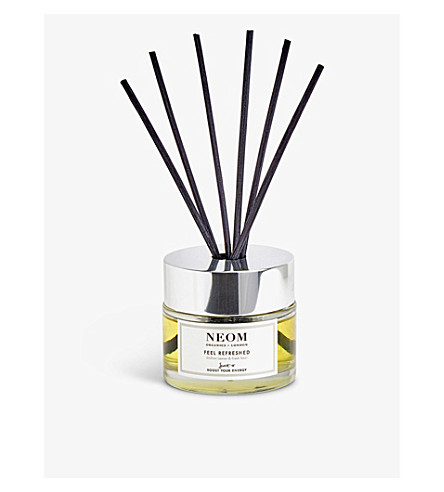 NEOM LUXURY ORGANICS Feel Refreshed reed diffuser 100ml