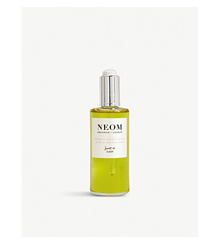 NEOM LUXURY ORGANICS Tranquillity bath and shower oil 100ml