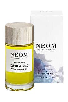 NEOM LUXURY ORGANICS Real Luxury bath and shower oil 100ml