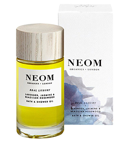 NEOM LUXURY ORGANICS Real Luxury bath and shower oil 100ml