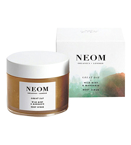 NEOM LUXURY ORGANICS Great Day body scrub 332g