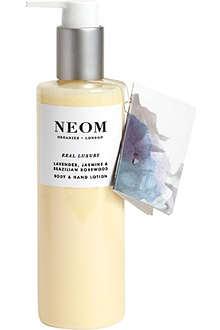 NEOM LUXURY ORGANICS Real Luxury body and hand lotion 250ml